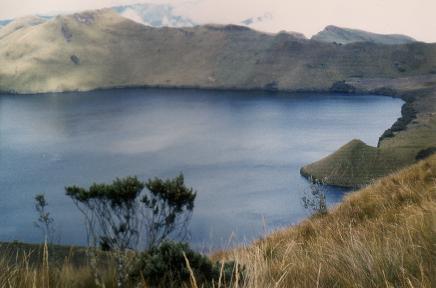 Mojanda: Ein traumhafter See für uns ganz allein